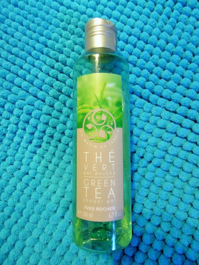 Gel Yves Rocher Green Tea